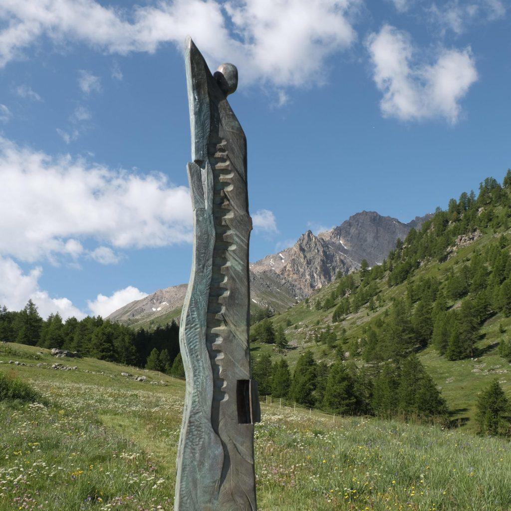 Art visuel_oeuvre du Sculpteur Thierry Ollagnier
