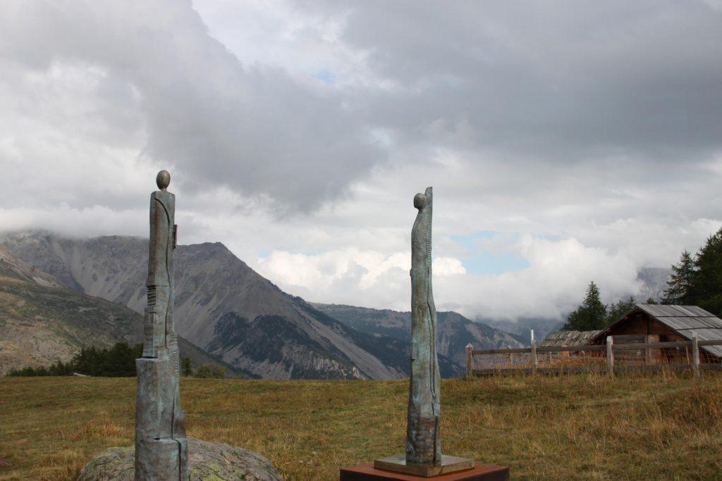 Art visuel_Installation du Sculpteur Thierry Ollagnier